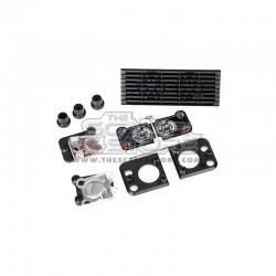 Traxxas Defender TRX-4 Front Grill and Lamps