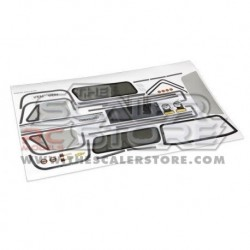 Traxxas TRX-4 Chevrolet Blazer Decals Set