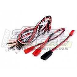 Integy Led 5mm White (4) Red (2)