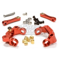 Integy Tamiya CC-01 C Hub with ball bearings RED
