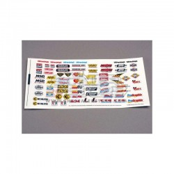Traxxas Sponsor Decals Set