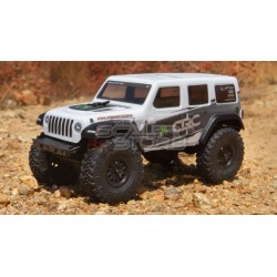Axial SCX24 Jeep Wrangler Unlimited JLU CRC 1/24 RTR WHITE