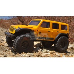 Axial SCX24 Jeep Wrangler Unlimited JLU CRC 1/24 RTR YELLOW
