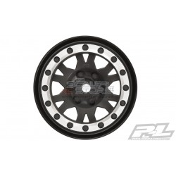 Proline 1.9 Beadlock Wheels Impulse BLACK/SILVER