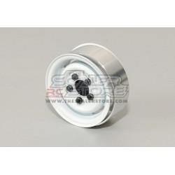 RC4WD Cerchi 1.55 beadlock acciaio Landies BIANCHI(4)