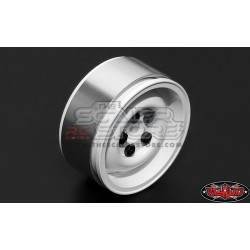 RC4WD Landies 1.9 Aluminum Wheels WHITE(4)