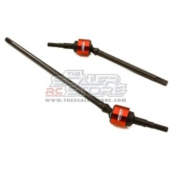 Integy Front Universal shafts for Axial Wraith RED