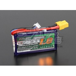 Turnigy Batteria Lipo Nano-Tech 1000mAh 2S 25~50C