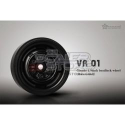 Gmade 1.9 VR01 Beadlock Wheels BLACK