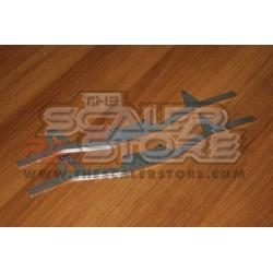 TSS Steel Ladder Frames for Losi Mini Crawler