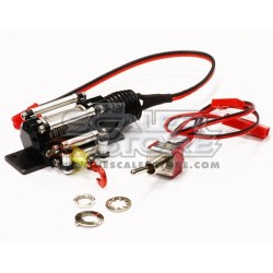 Integy Alloy Winch 1/10 BLACK