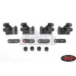 RC4WD Leaf Spring Mount Kit for Axial AR44 SCX10.2 Single...