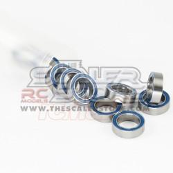 Yeah Racing Cuscinetto (15x21x4mm) teflon blu