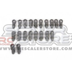 Axial HD Rod Ends M4 SCX10.3/Capra (20pcs)