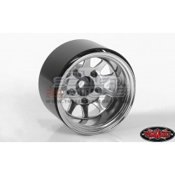 RC4WD Deep Dish Wagon Steel 1.55 Beadlock Wheels CHROME(4)