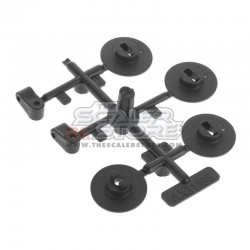 Axial Winch Spool Servo Mounts