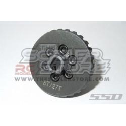 SSD Coppia Conica Overdrive Acciaio SCX10 2 AR44 27/8T