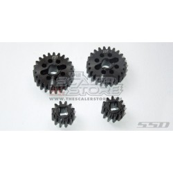 SSD Steel Portal Gear Set For Axial SCX10.3/Capra