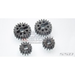 SSD Overdrive Steel Portal Gear Set For Axial SCX10.3/Capra