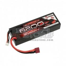 Robitronic Batteria Lipo 6200mAh 2S 40C HARDCASE