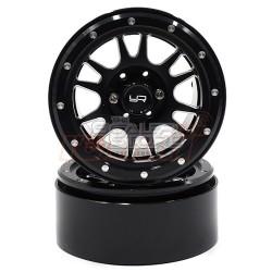 Yeah Racing 2.2 Aluminum Beadlock 12 Spoke Wheel set (2)