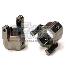 Integy Axial AX10/SCX/Honcho Castor block GUN