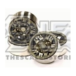 Integy 1.9 Alloy 5 Spoke Wheel (4) High Mass Type GUN