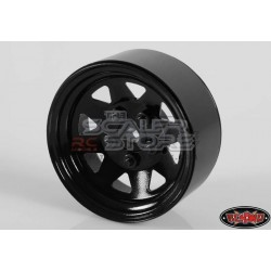 RC4WD 5 Lug Wagon Steel 1.9 Stock Beadlock Wheel BLACK(1)