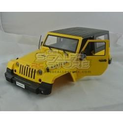Jeep Rubicon JK body YELLOW 275mm