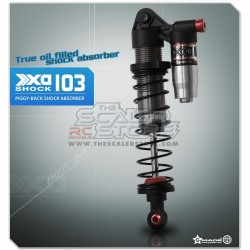 Gmade XD Piggyback Aluminium Shocks 103mm (2)