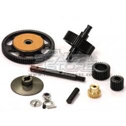 Integy Slippery Steel gear set for Axial AX10/SCX/Honcho