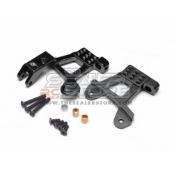 Boom Racing SCX2 Alloy Front Shock Mounts BLACK