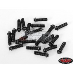RC4WD Miniature Scale Hex Bolts M3x10mm (20) BLACK