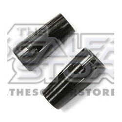 Integy Wraith Aluminum Rear axle lock out BLACK