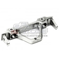 Integy Axial SCX/Honcho/Dingo Alloy rear Bumper Mount SILVER