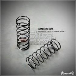 Gmade Shock Spring 19x50mm Medium White