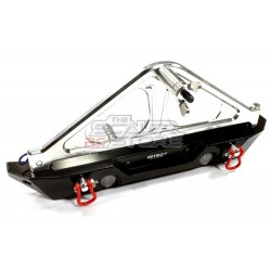 Integy Realistic 1/10 Rear Bumper with Spare Tire Rack...