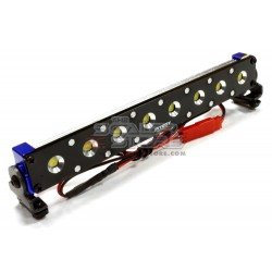 Integy Realistic T5 Adjustable 8 Spot Light Bar BLUE