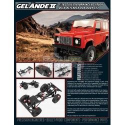 RC4WD Gelande II Defender 90 1/18 RTR