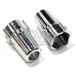 Integy Axial SCX/Honcho/Dingo Aluminum Rear axle lock out...