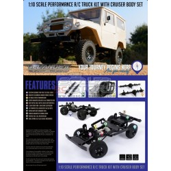 RC4WD Gelande II Cruiser Kit