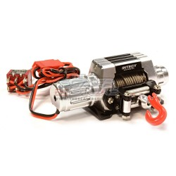 Integy Alloy Winch High Torque T10 1/10 SILVER