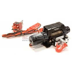 Integy Alloy Winch High Torque T10 1/10 BLACK