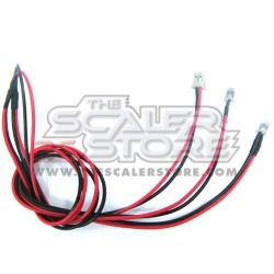 Yeah Racing coppia led 3mm ROSSO