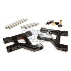 Integy Braccetti Anteriori Alluminio Tamiya CC01 NERO