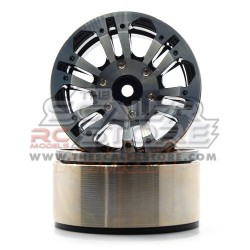 Xtra Speed 1.9 High-Mass Beadlock Alloy 12 Spoke wheel...