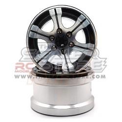 Xtra Speed 2.2 High-Mass Beadlock Alloy 6 Spoke wheel set...