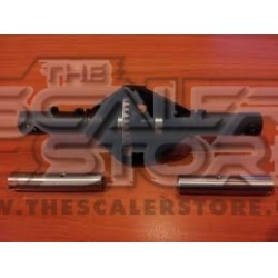 TSS SSD D60 Axle Case for Axial SCX with Beef Tubes