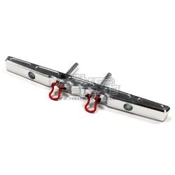 Integy Axial SCX/Honcho/Dingo Alloy T2 Rear Bumper SILVER