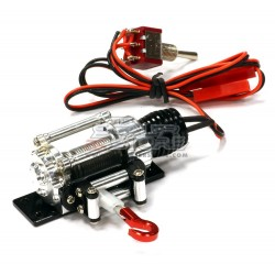 Integy T2 Alloy Winch 1/10 SILVER